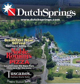 Where We Dive:  Dutch Springs